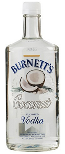Burnett's Vodka Coconut 750ml - Case of 12